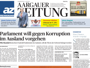 Titel_AZ_Ständerat_Korruption
