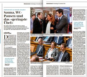 Bundesratswahl-Reportage
